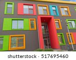Multi Colored Windows Of The...