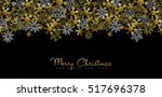 merry christmas happy new year... | Shutterstock .eps vector #517696378