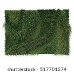 3d rendering of vertical garden | Shutterstock . vector #517701274