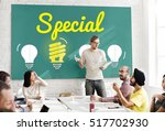 outstanding different special... | Shutterstock . vector #517702930