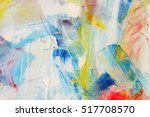 texture  background painting... | Shutterstock . vector #517708570
