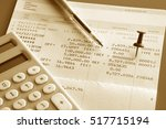 saving account book and...   Shutterstock . vector #517715194
