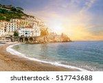 Beautiful Landscape Of Amalfi...