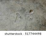 cement wall texture background  ... | Shutterstock . vector #517744498