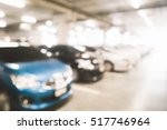 blurred photo of cars in the... | Shutterstock . vector #517746964