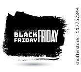 black friday sale handmade... | Shutterstock .eps vector #517757344
