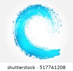 grunge surfing icon.vector... | Shutterstock .eps vector #517761208