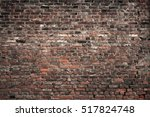 Old Brick Wall. Grunge...