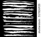 handdrawn ink vector brush... | Shutterstock .eps vector #517826920