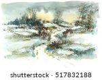 Path Winter Landscape ...