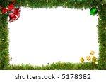 christmas frame | Shutterstock . vector #5178382