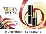 makeup ads template  colorful... | Shutterstock .eps vector #517838248