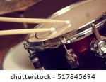 drums conceptual image | Shutterstock . vector #517845694
