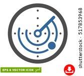 radar eps vector pictogram....   Shutterstock .eps vector #517853968