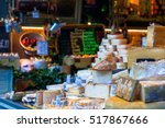Variety Of Cheese On Display In ...