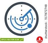 radar eps vector icon....   Shutterstock .eps vector #517872748