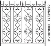Wrought Iron Gate  Door  Fence...