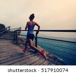 healthy lifestyle young fitness ... | Shutterstock . vector #517910074