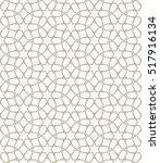 seamless geometric line pattern ... | Shutterstock .eps vector #517916134