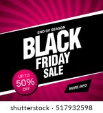 black friday sale banner | Shutterstock .eps vector #517932598