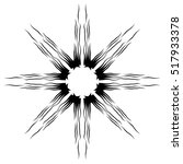 tattoo tribal vector design...   Shutterstock .eps vector #517933378