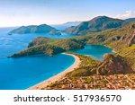 oludeniz beach  turkey | Shutterstock . vector #517936570