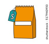 bag animal food isolated icon... | Shutterstock .eps vector #517940950