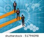 business background   Shutterstock .eps vector #51794098