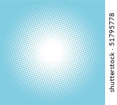 halftone vector illustration...   Shutterstock .eps vector #51795778