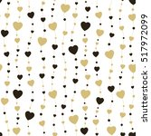 seamless background hearts.... | Shutterstock .eps vector #517972099