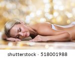people  beauty  spa  healthy... | Shutterstock . vector #518001988