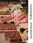 Small photo of Sweets in the bazaar of Akko (Acre), Israel