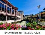 Chamonix Downtown In Summer ...