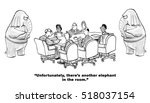 black and white illustration of ... | Shutterstock . vector #518037154