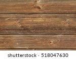 horizontal barn wooden wall... | Shutterstock . vector #518047630