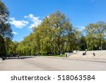 london  england   may 12  2012  ... | Shutterstock . vector #518063584