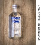 Small photo of Chisinau, Moldova November 17, 2016:Absolut Vodka is a brand of vodka, produced near Ahus, in Sweden. Owned by French group Pernod Ricard it is one of the largest brand