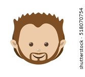 man character icon image  | Shutterstock .eps vector #518070754