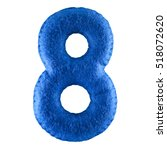 Number 8. Hand Made Number...