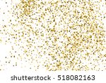 gold glitter texture isolated... | Shutterstock .eps vector #518082163