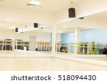 interior of a fitness hall | Shutterstock . vector #518094430