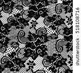 lace pattern | Shutterstock .eps vector #518108716