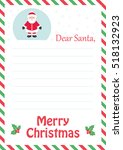 Letter To Santa With Santa Claus
