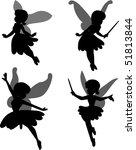 little fairy | Shutterstock .eps vector #51813844