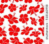 aloha hawaii  luau party... | Shutterstock .eps vector #518160958