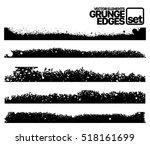 hand drawn edges pattern...   Shutterstock .eps vector #518161699