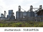 plant for storage and... | Shutterstock . vector #518169526