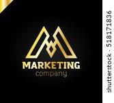 letter m logo icon design... | Shutterstock .eps vector #518171836