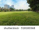 Landscape Green Grass Field Of...