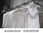 wedding dresses | Shutterstock . vector #518185258